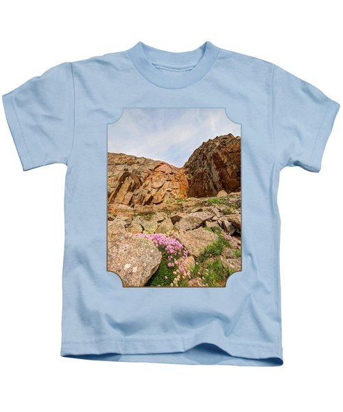 Rocky Cove At La Corbiere Kids T-Shirt