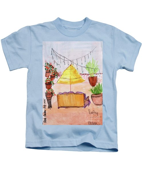 Rooftop At The Canary Kids T-Shirt