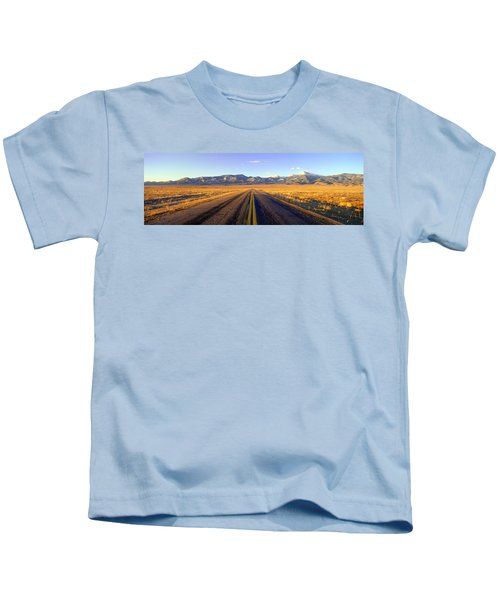 Route 50, Road To Great Basin National Kids T-Shirt