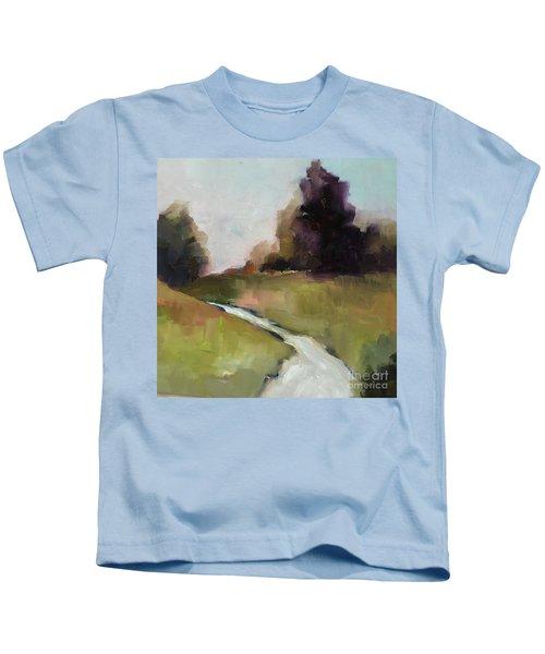 Running Stream Kids T-Shirt