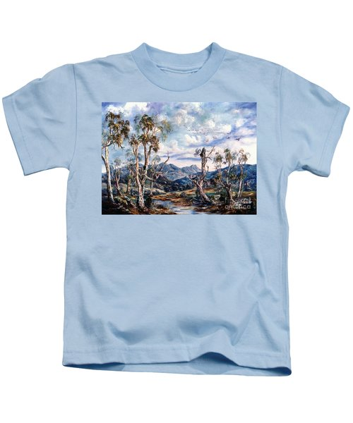 Rwetyepme, Mount Sonda Central Australia Kids T-Shirt