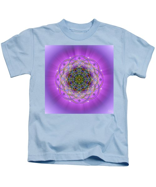 Sacred Geometry 715 Kids T-Shirt