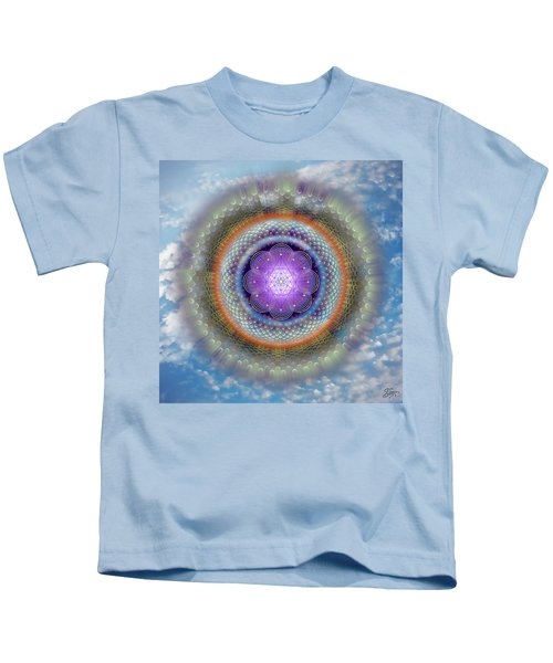 Sacred Geometry 716 Kids T-Shirt