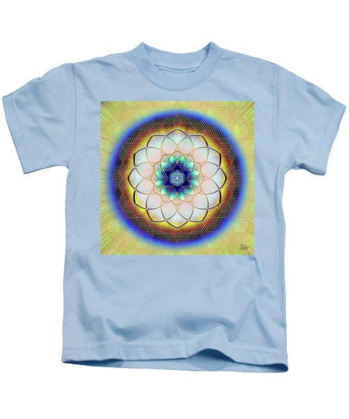 Sacred Geometry 723 Kids T-Shirt