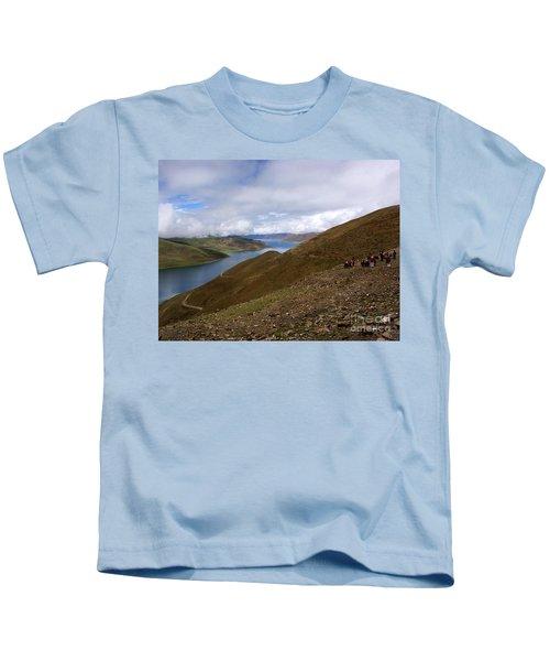 Sacred Lakes Kids T-Shirt