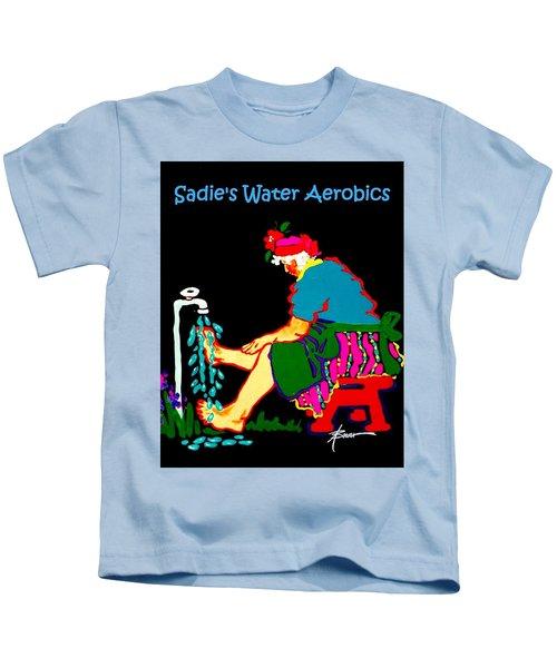 Sadie's Water Aerobics  Kids T-Shirt