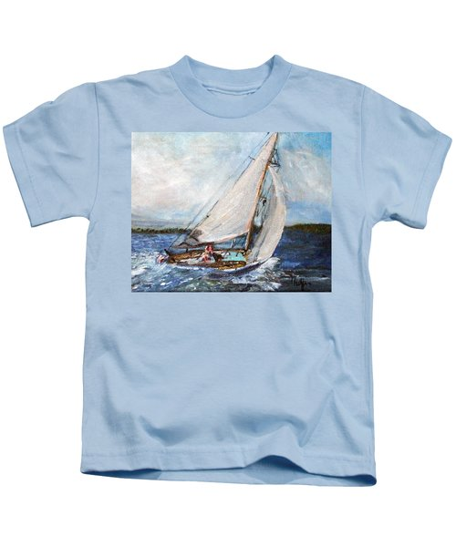 Sail Away Kids T-Shirt