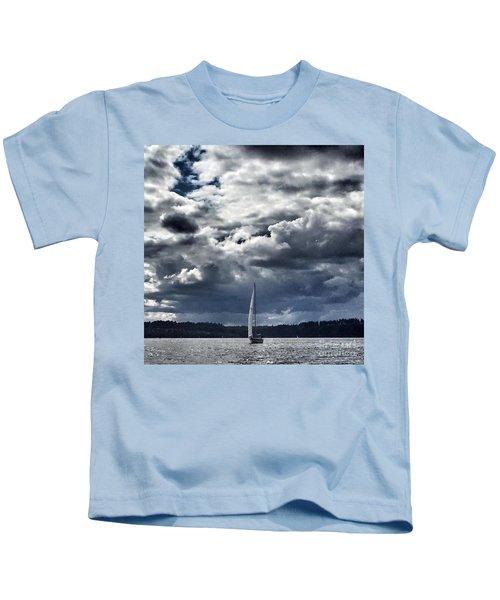 Sailing Puget Sound Kids T-Shirt