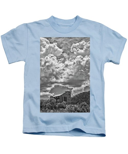 Saint Joseph Apache Mission, Mescalero, New Mexico, June 10, 201 Kids T-Shirt