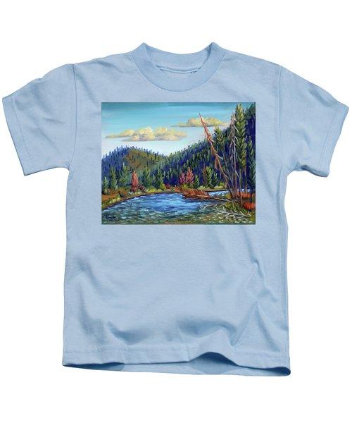 Salmon River - Stanley Kids T-Shirt