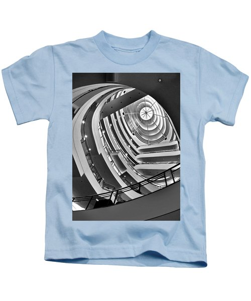 San Francisco - Nordstrom Department Store Architecture Kids T-Shirt