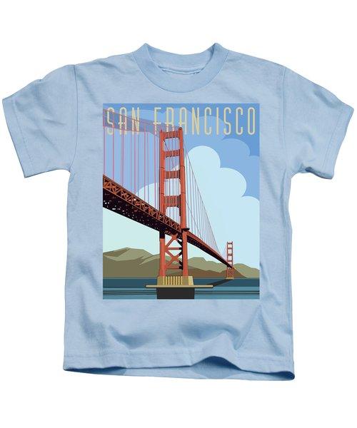 San Francisco Poster  Kids T-Shirt