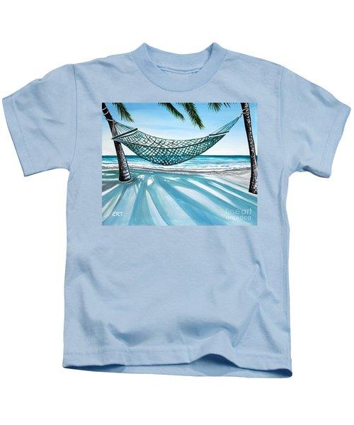Sand And Shadows Kids T-Shirt