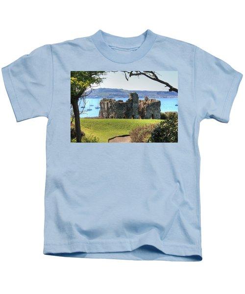 Sandsfoot Castle With Portland Kids T-Shirt