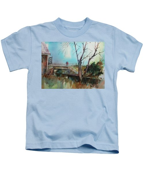 Sara's View Of The Jones River Kids T-Shirt
