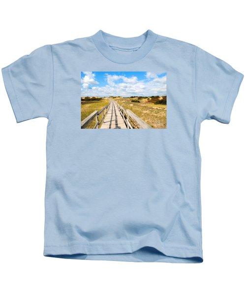 Seabound Boardwalk Kids T-Shirt