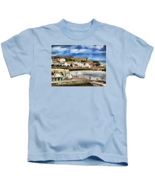 Seafront Broadstairs Kent Kids T-Shirt