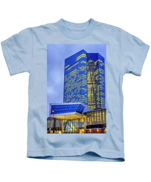 Seat Of The European Central Bank Kids T-Shirt
