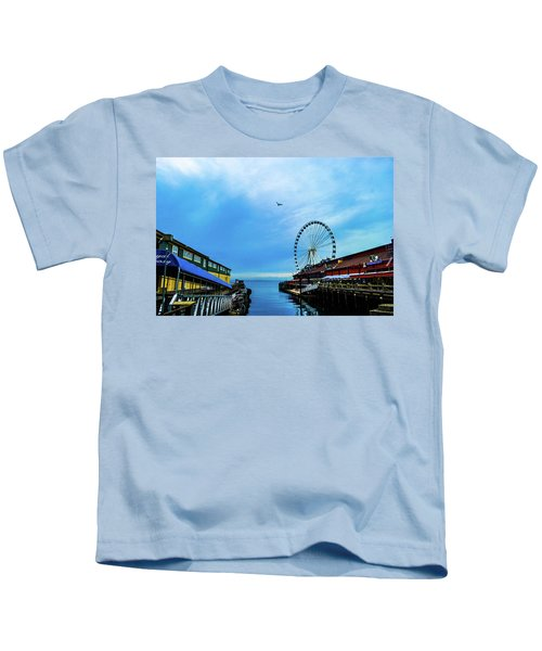Seattle Pier 57 Kids T-Shirt