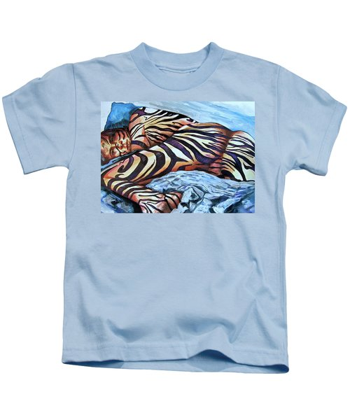Seduction Of Stripes Kids T-Shirt