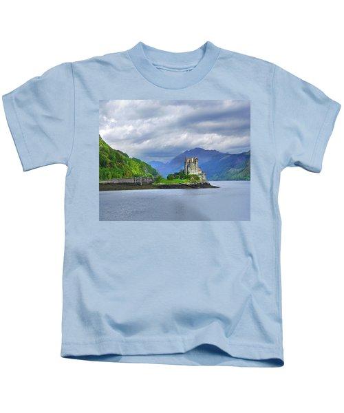 Sentinel Of The Loch Kids T-Shirt