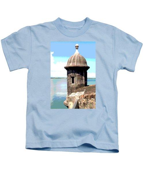 Sentry Box In El Morro Kids T-Shirt