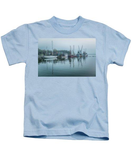 Shem Creek Fog Kids T-Shirt