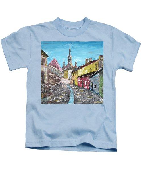 Sighisoara Draculas Home Kids T-Shirt