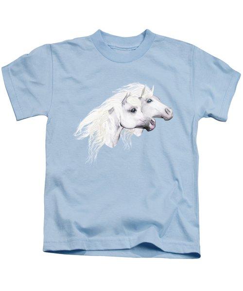 Silver Manes Kids T-Shirt