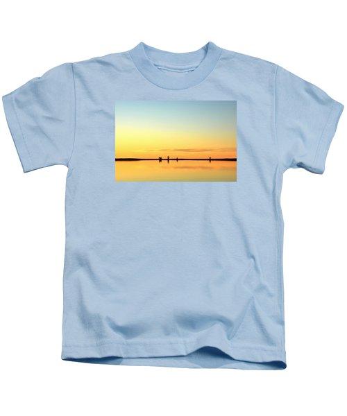 Simple Sunrise Kids T-Shirt