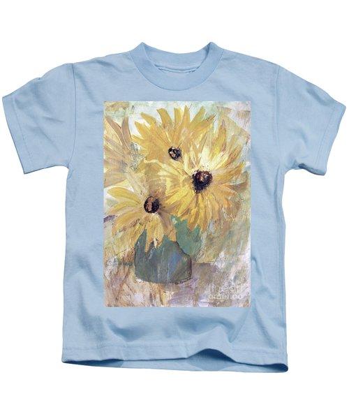 Simply Sunflowers  Kids T-Shirt