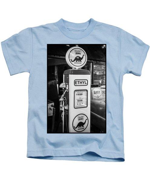 Sinclair Dino Gas Pump Kids T-Shirt