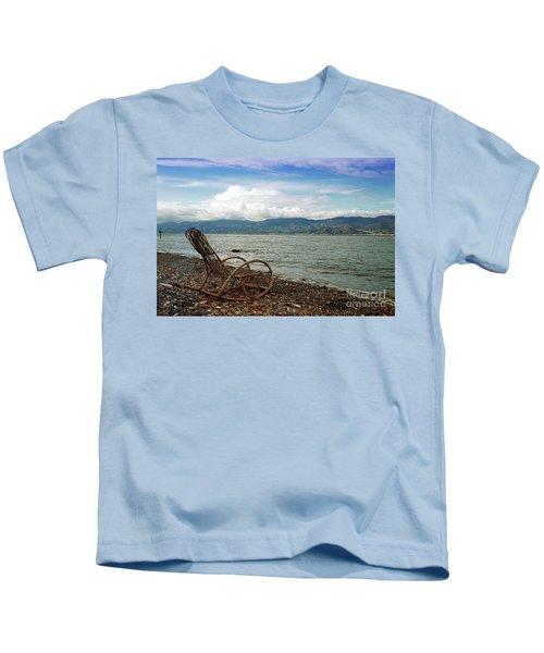 Sit Back And Enjoy Kids T-Shirt