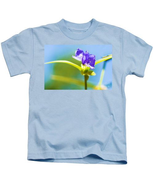 Sky Flowers Kids T-Shirt