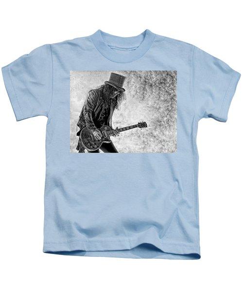 Slash - Guns And Roses Kids T-Shirt