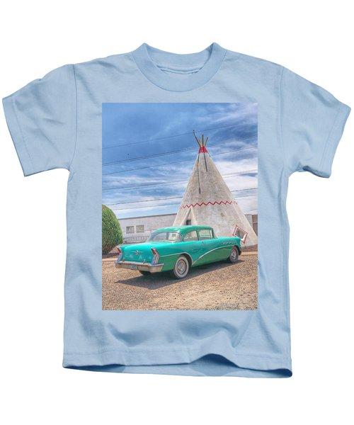 Sleep In A Wigwam Kids T-Shirt