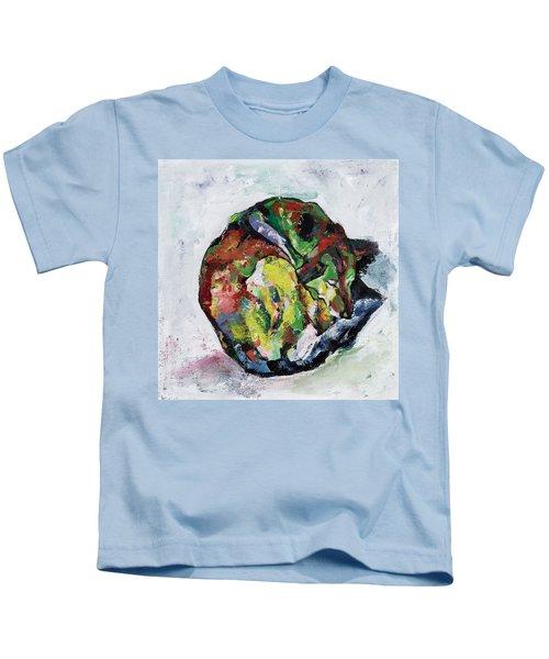Sleeping Dog_3 Kids T-Shirt