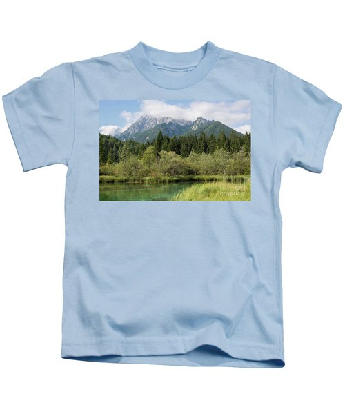 Slovenian Alps Kids T-Shirt