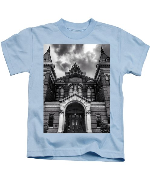 Smithsonian Arts And Industries Building Kids T-Shirt