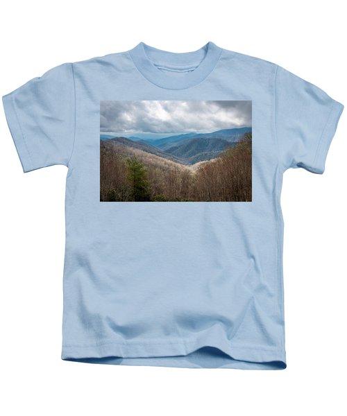 Smoky Mountains Kids T-Shirt