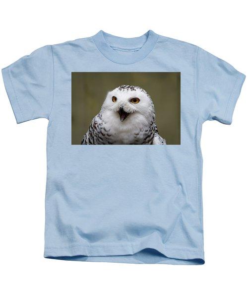 Snowy Sings Kids T-Shirt