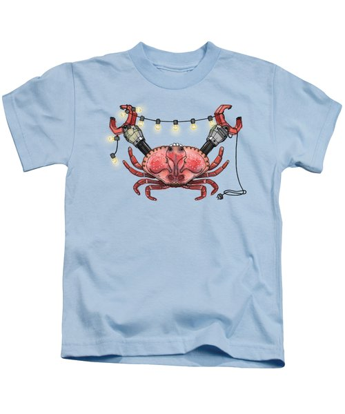 So Crabby Chic Kids T-Shirt by Kelly Jade King