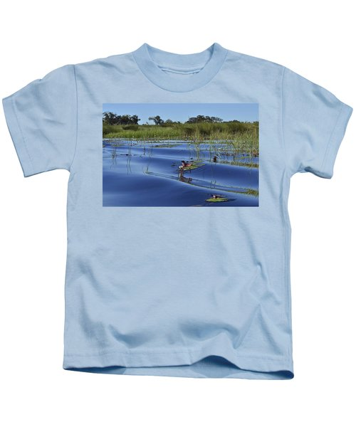Solitude In The Okavango Kids T-Shirt