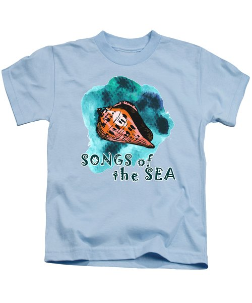 Songs Of The Sea Kids T-Shirt