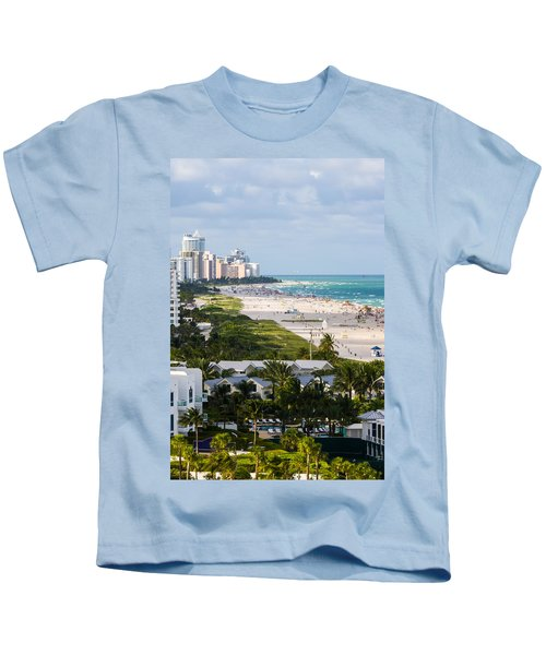 South Beach Late Afternoon Kids T-Shirt
