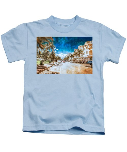 South Beach Road Kids T-Shirt