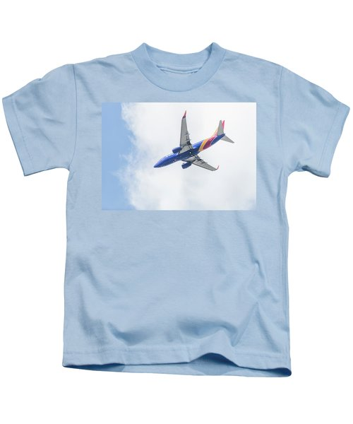 Southwest Airlines With A Heart Kids T-Shirt
