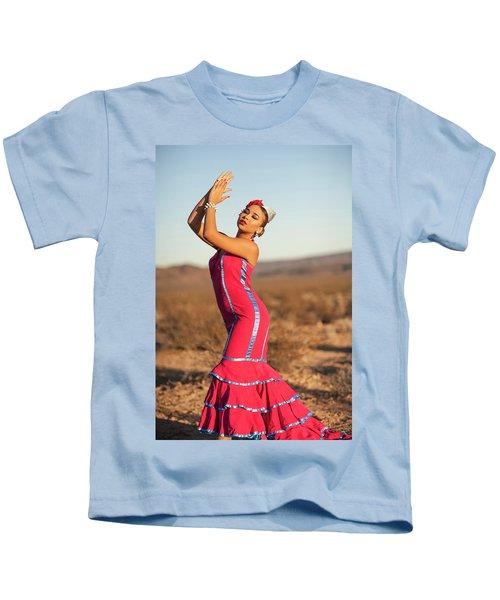 Spanish Dancer Kids T-Shirt