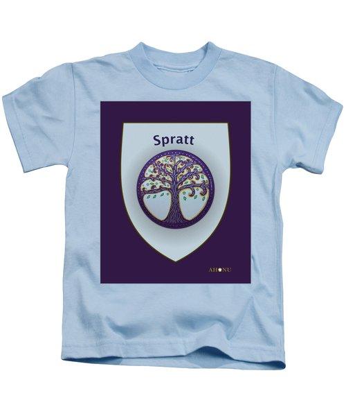 Spratt Family Crest Kids T-Shirt