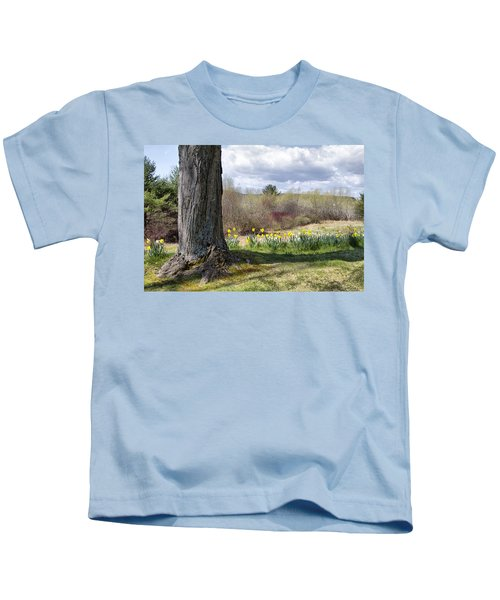 Spring Daffodils  Kids T-Shirt